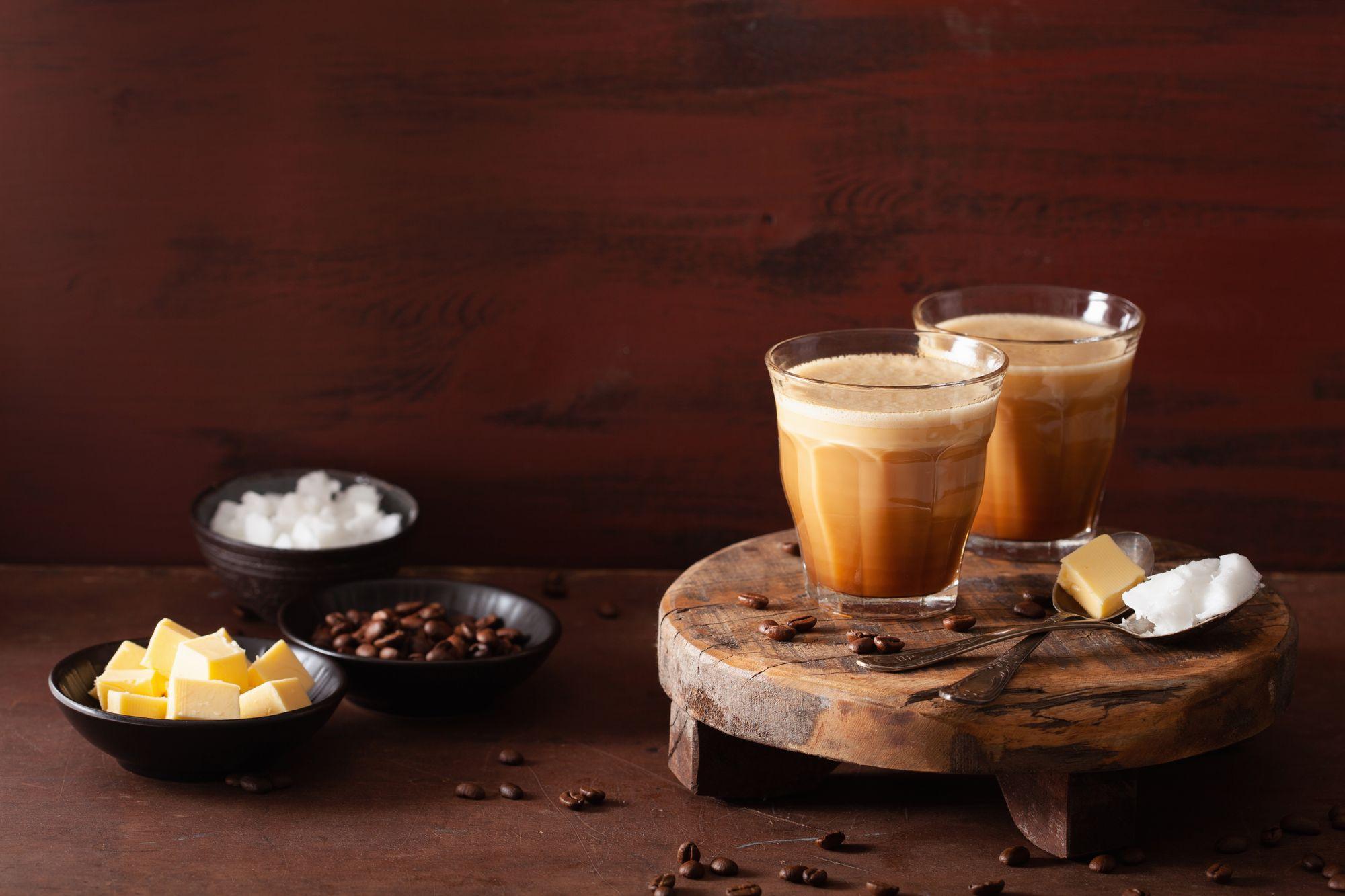 Bulletproof coffee. (Reprodução/Freepik)