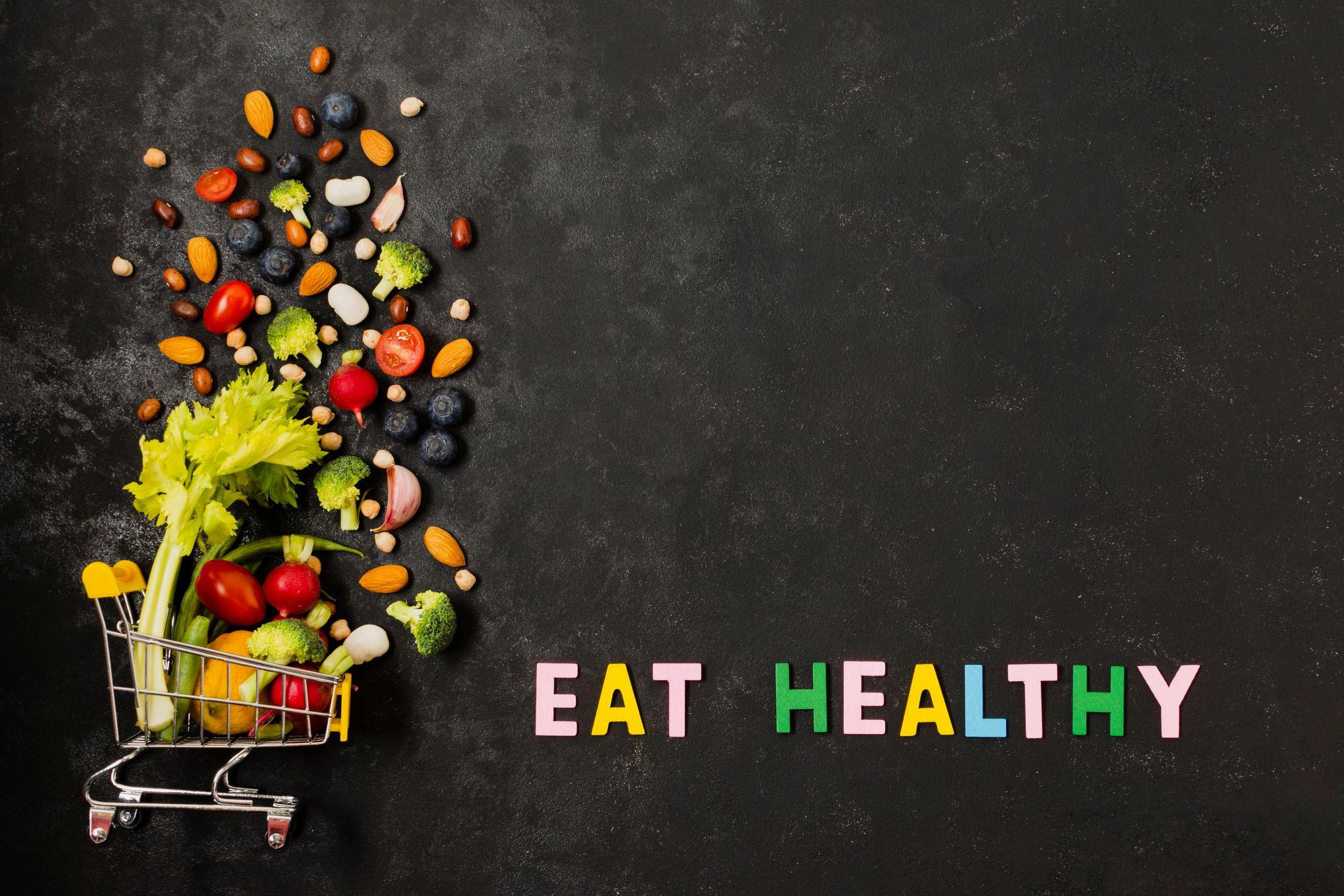 Coma saúde. (Reprodução/Freepik)
