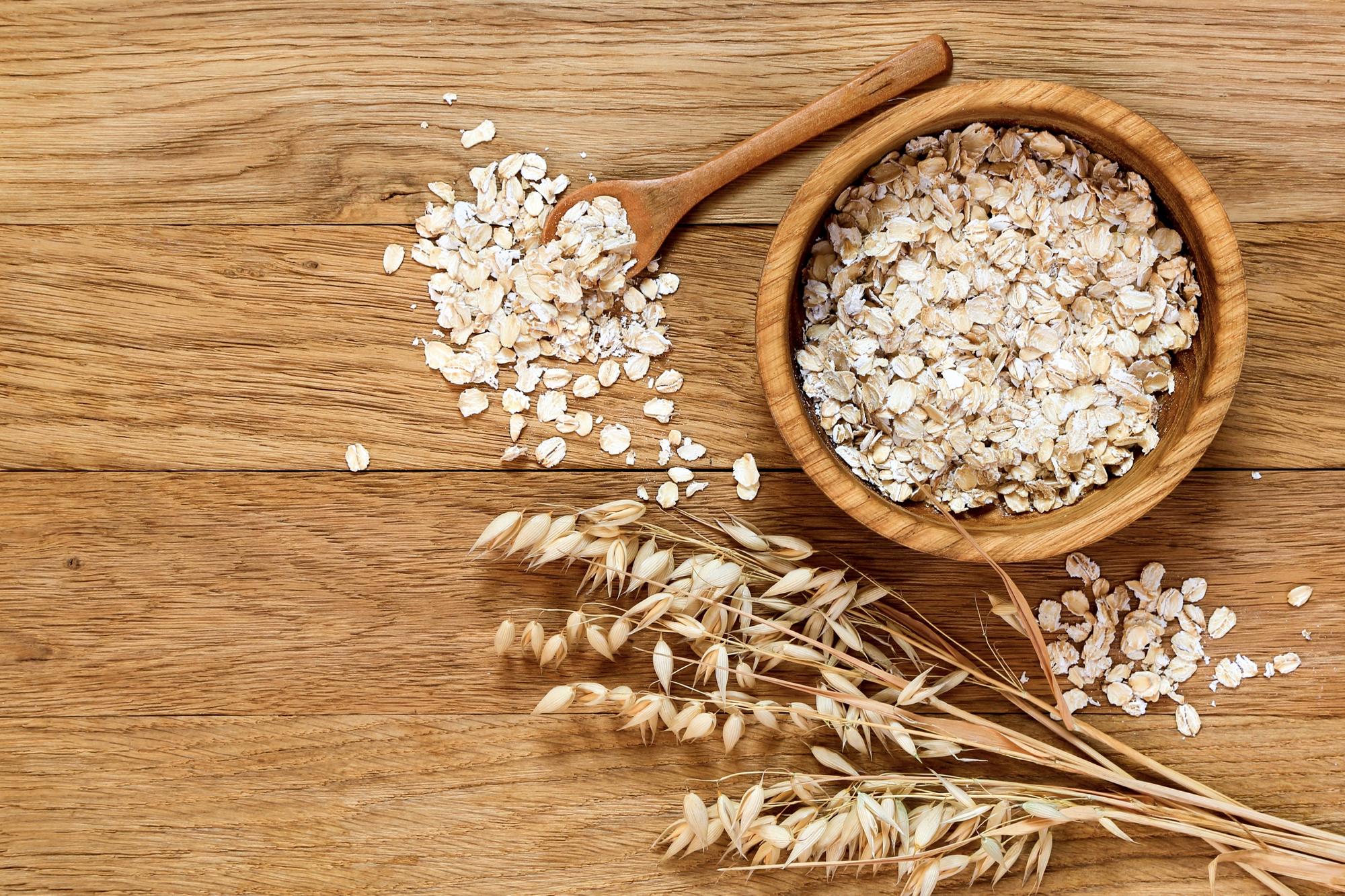 Alimentos que fazem bem para a pele: aveia (Fonte: Info Escola)