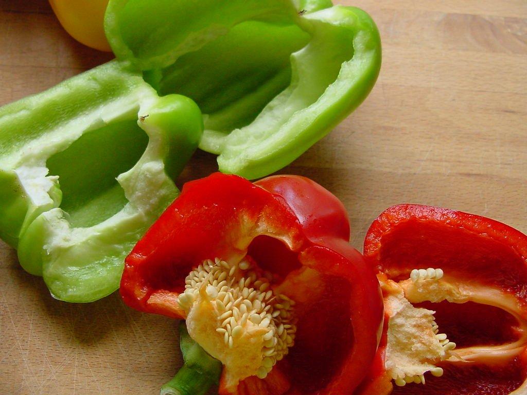 Alimentos que fazem bem para a pele: pimentão vermelho (Fonte: Free Imagens)