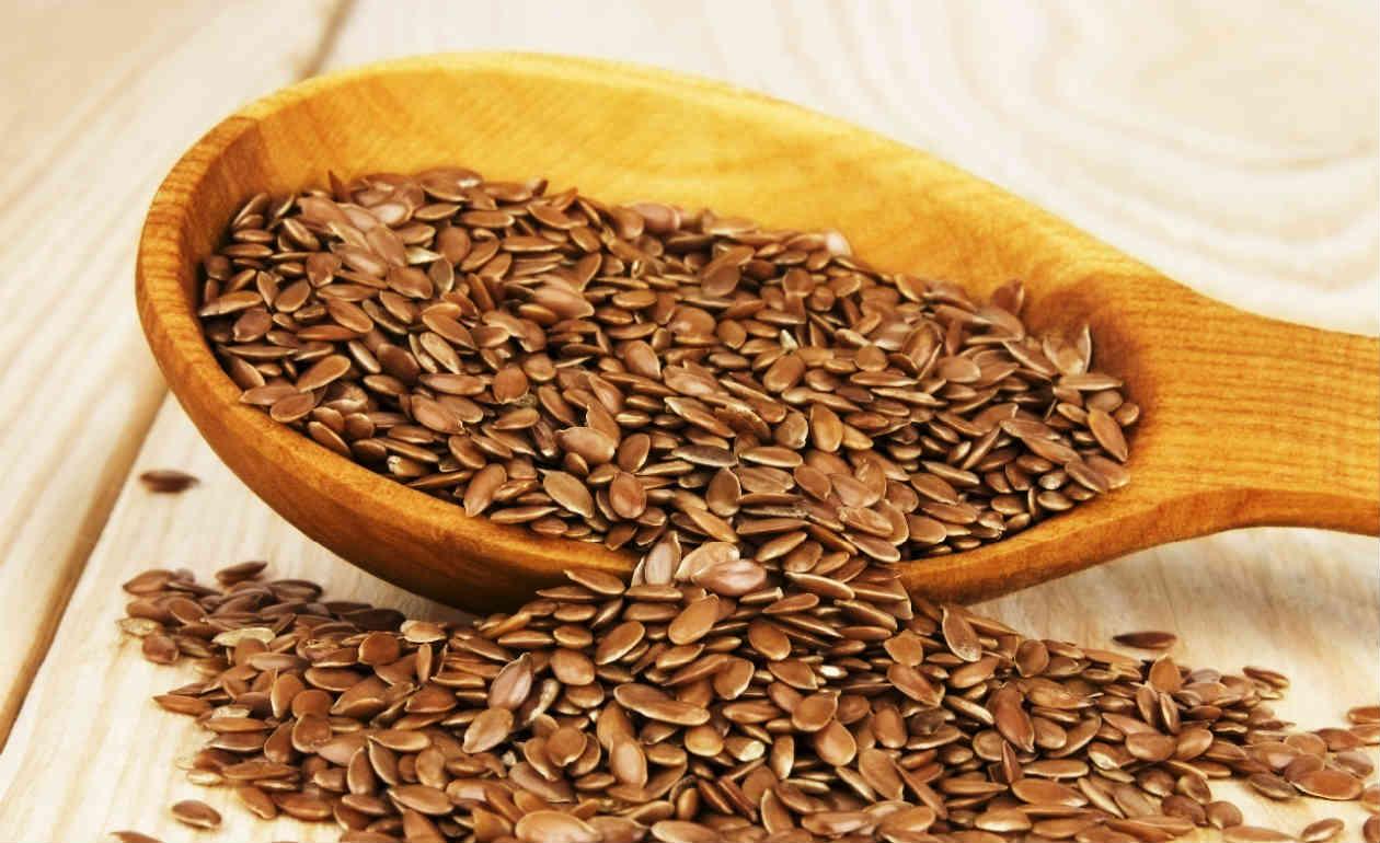 Alimentos que fazem bem para a pele: linhaça (Fonte: Blog One Spa)