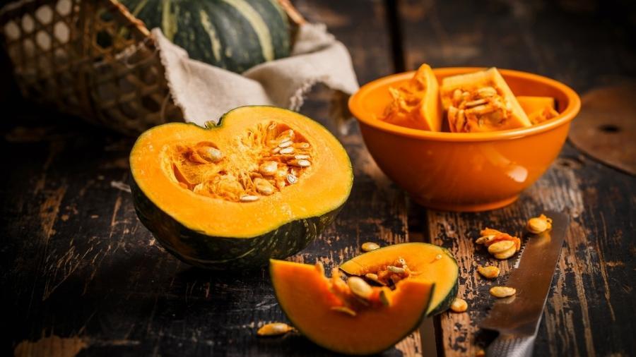 Alimentos que fazem bem para a pele: abóbora (Fonte: Viva Bem)