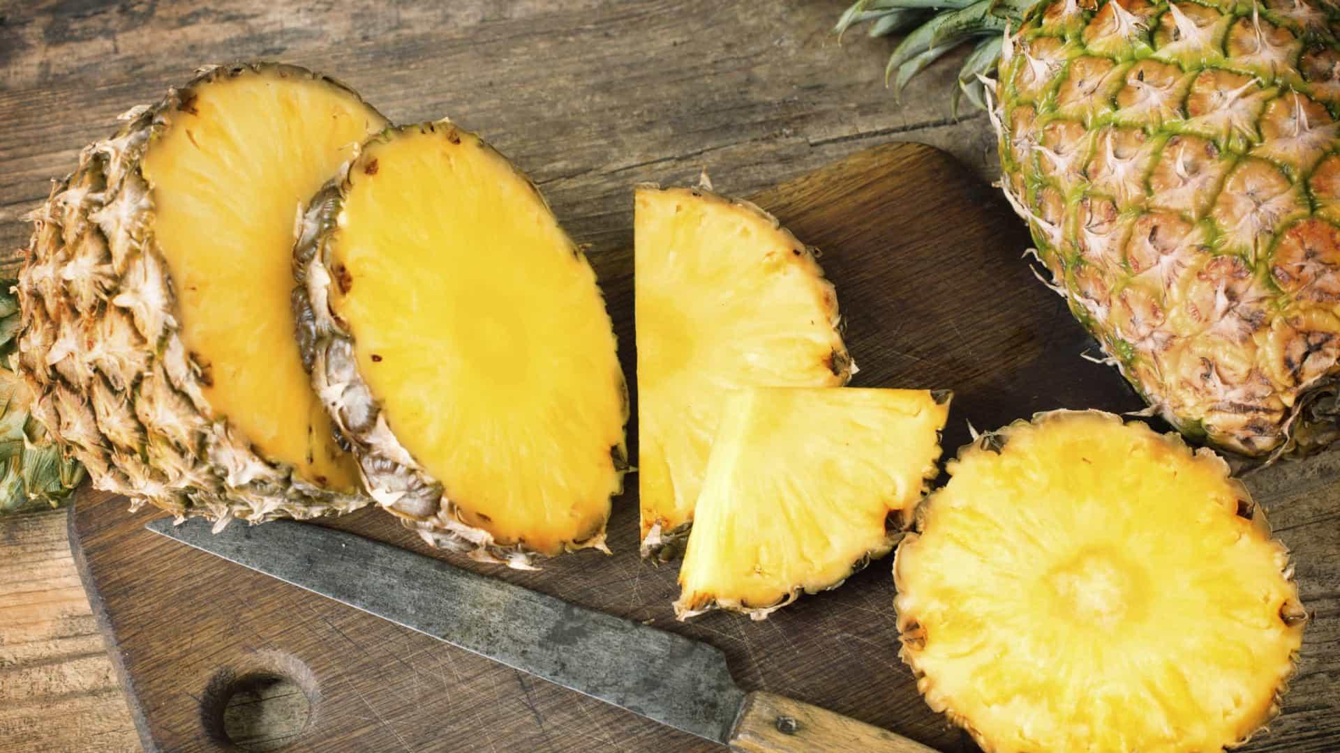 Alimentos que fazem bem para a pele: Abacaxi (Fonte: Lifestyle ao Minuto)