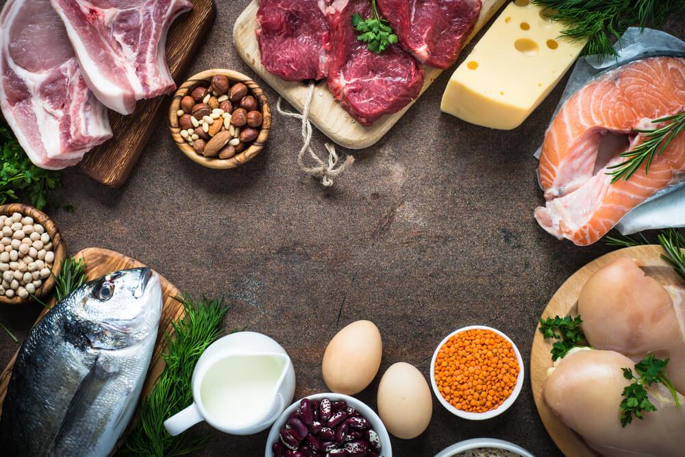 Alimentos proteicos (Fonte: Blog G Suplementos)
