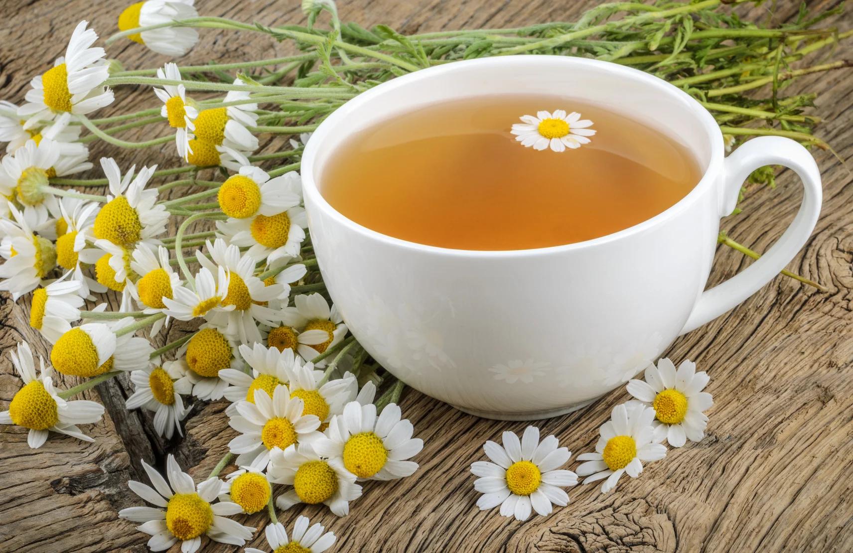 Chá de camomila alivia o estresse (Fonte: Guia da Semana)