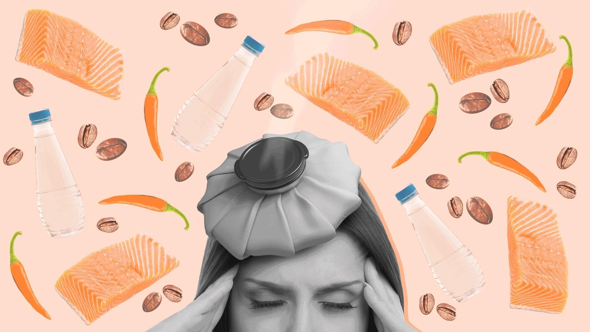 Aposte em uma boa alimentação para diminuir a enxaqueca (Fonte: UOL)